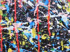 Jackson Pollock Mural - Los Angeles - 050209 (deestbie) Tags: jackson pollock