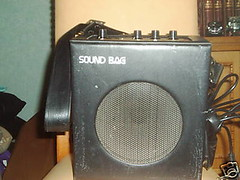 Teisco SB-10 Sound Bag portable amp (sano12) Tags: amps teisco