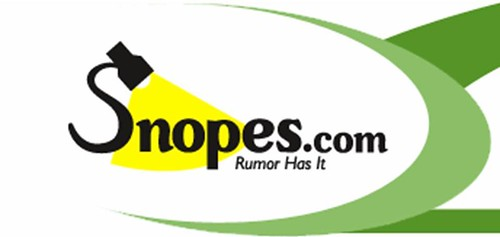 snopes logo true or false
