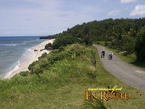 Biking Batan Island Local Bikers at the Uyugan Road