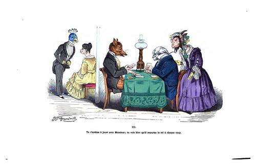 019-Les métamorphoses du jour (1869)-J.J Grandville