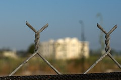 Fenced off (jakerome) Tags: california abandoned losangeles southbay elsegundo recession laafb losangelesairforcebase smcpentaxfa50mmf14 southbay360 360southbay