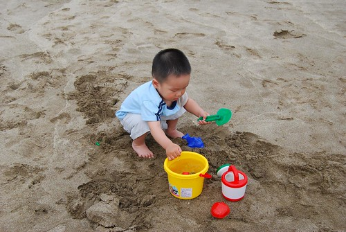 第一次玩沙,摸索中