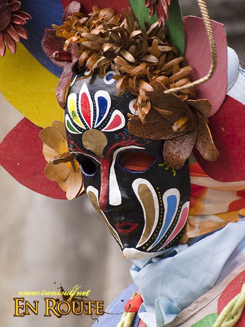 Pahiyas 2009 Eye-less masked mime