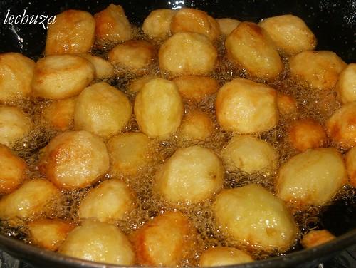 Cordero al horno-patatas