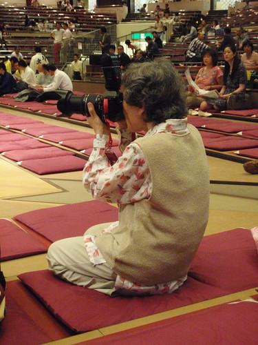 Abuelita fotógrafa