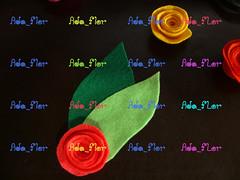 Broche de Rosas PAP 5 (Ada_Flor) Tags: flores broche flor rosa feltro pap acessorios