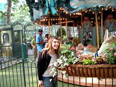Bryant Park Carousel and Me!