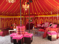 Eileen's Party Tent Interior