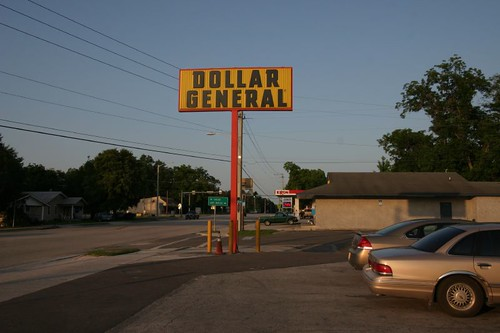 Dollar General - one of several, cheap dollar stores...