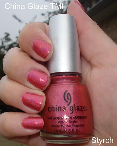 china glaze omg. China Glaze TMI by styrch
