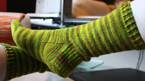 socks for Kellee (by aswim in knits)