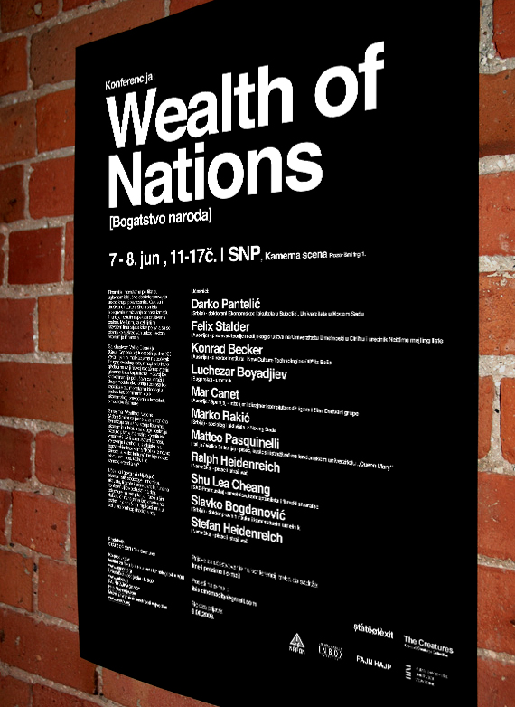 Wealth of Nations Poster 2009.