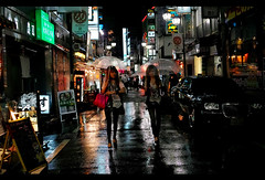 rainy night (Noisy Paradise) Tags: street city longexposure light urban rain japan night tokyo shinjuku sigma explore kabukicho   foveon   dp2  sigmadp2