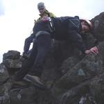 scrambling on Sgurr Mhic Choinnich thumbnail