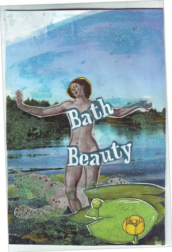 The bathing beauty!