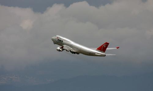 Northwest Airlines 747-400