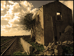 The Soul of the Old Station (Gio  Photostream) Tags: old station foto shots ruin soul rovine saariysqualitypictures