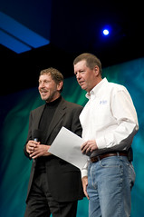 "Scott McNealy and Larry Ellison, General Session ""Java: Change (Y)Our World"" on June 2, JavaOne 2009 San Francisco"