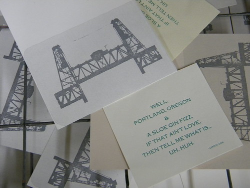 Steel Bridge Post Card