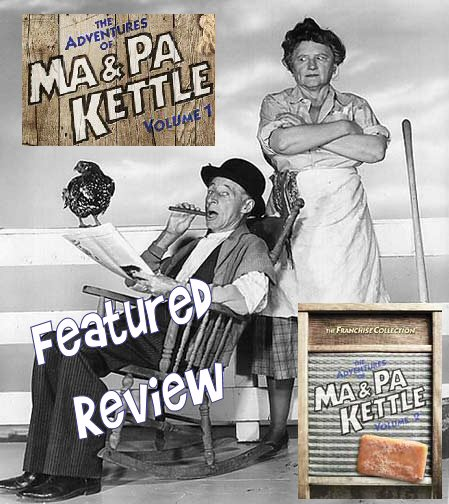 The wonderful character actress Marjorie Main as Ma Kettle and Percy McBride as Pa Kettle.