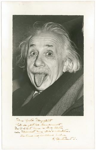 Albert Einstein's Signed Photo to Howard K. Smith