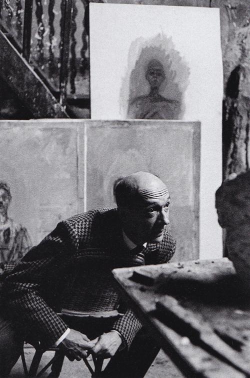 07 Pierre Josse, Alberto Giacometti's studio, Paris. 1961