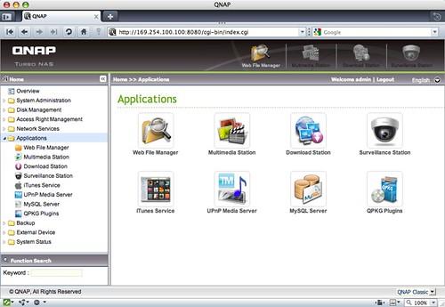 QNAP Apps
