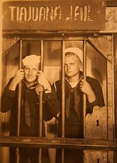 He's in the Jailhouse Now (Roxiepix) Tags: war pacific wwii navy 1940s jail service sailor tiajuana rhodes servicemen ssallendale