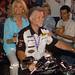 Linda Davis on Jack's Harley