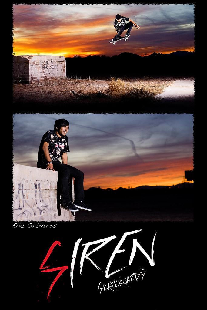 Eric Siren Poster