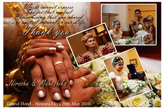 Thankyou Card (Upul R) Tags: wedding groom nikon traditional brides weddings bridal tamron srilankan thankyoucard kandyan tamron2875f28 kandian 2875 d80