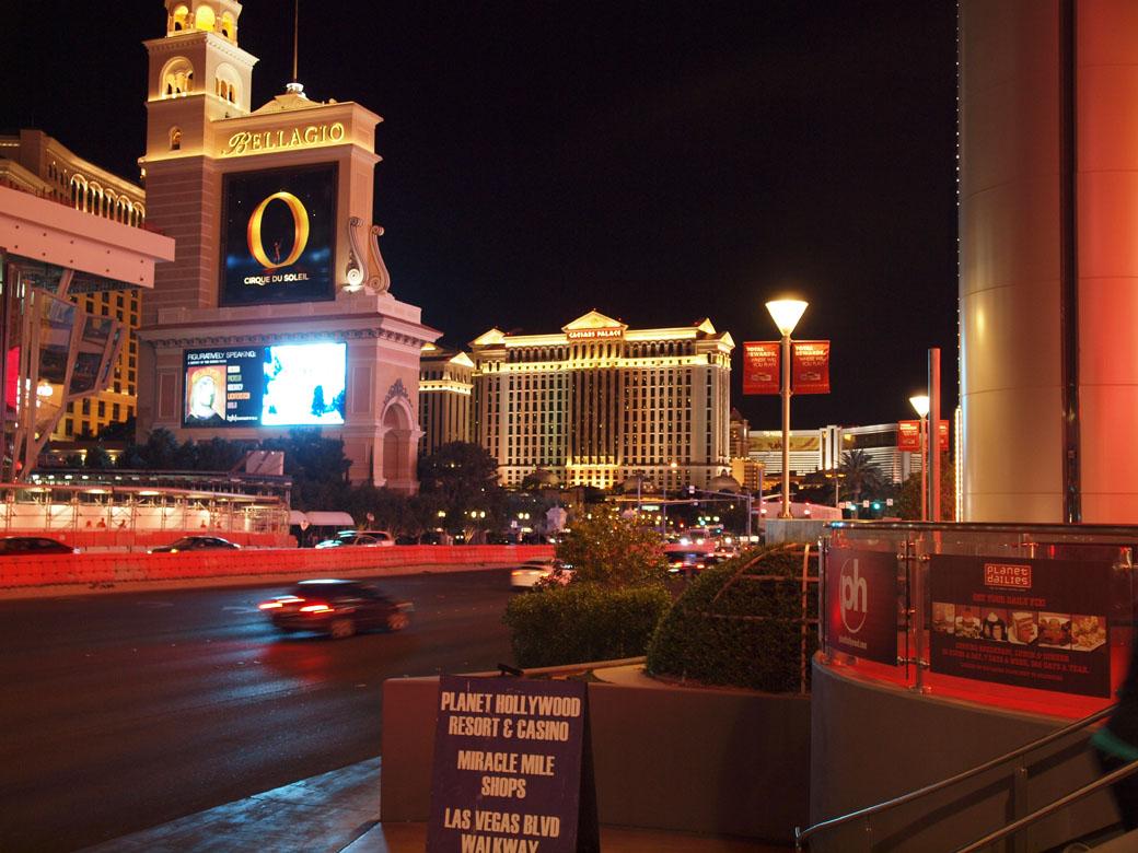 USA Trip - Vegas Strip at night