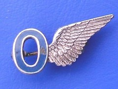 RAF Observer – brevet wing 'sweetheart' badge (pre-1942) (RETRO STU) Tags: 1942 1915 raf rfc royalairforce royalflyingcorps brevetwingbadge sweetheartbadges rafobserver rafobserverbadge