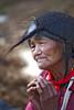 Arunachal Pradesh : Tawang, Monpa village #13 (foto_morgana) Tags: portrait people india hat hands asia tribal ethnic tawang olderwoman minorities arunachalpradesh adivasi monpa peoplesofindia tawangcircle