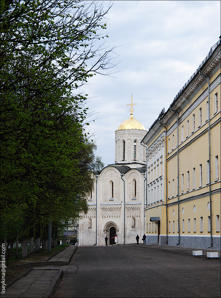 Палаты и Дмитриевский собор