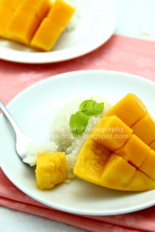 Mango with Glutinous Rice