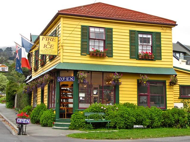 Akaroa, Banks Peninsula, New Zealand