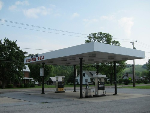 Atkins gas station