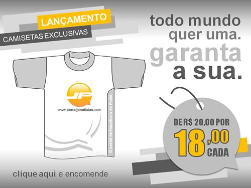 Camiseta - Banner - Publicidade - 31.05.11 by portaljp