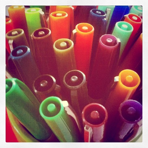 Sharpies are a happy thing. :)