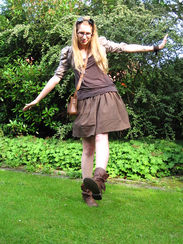 Steampunk Day outfit (14.6.2011)