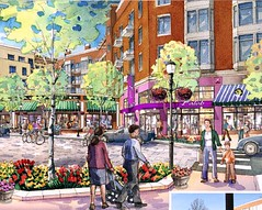 proposed Cathedral Commons, Washington DC (by: Street-Works)