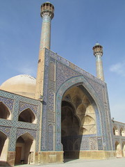 North Wing Iwan - Jameh Mosque (  ), Isfahan (twiga_swala) Tags: world heritage architecture persian site iran mosque unesco iranian friday monuments esfahan attractions isfahan mondial patrimoine mosque iwan    ispahan isphahan jameh espahan sepahan esfahn