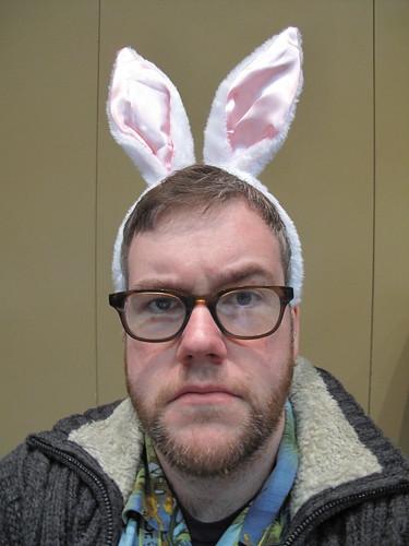 I'm a hoppy bunny