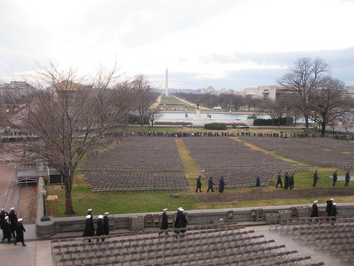 Inaugural Rehearsal by Presidential Inaugural Committee.