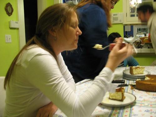 2009-01-06 Teri and Cheesecake
