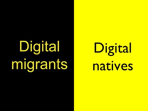 digital migrants / digital natives