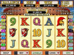 Caesar's Empire Nodownload Slot Game