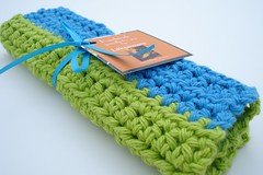 Crocheted Dishcloth (laksaware) Tags: kitchen bathroom handmade crochet housewares cleaning dishcloth cotton sponge eco washcloth ecofriendly